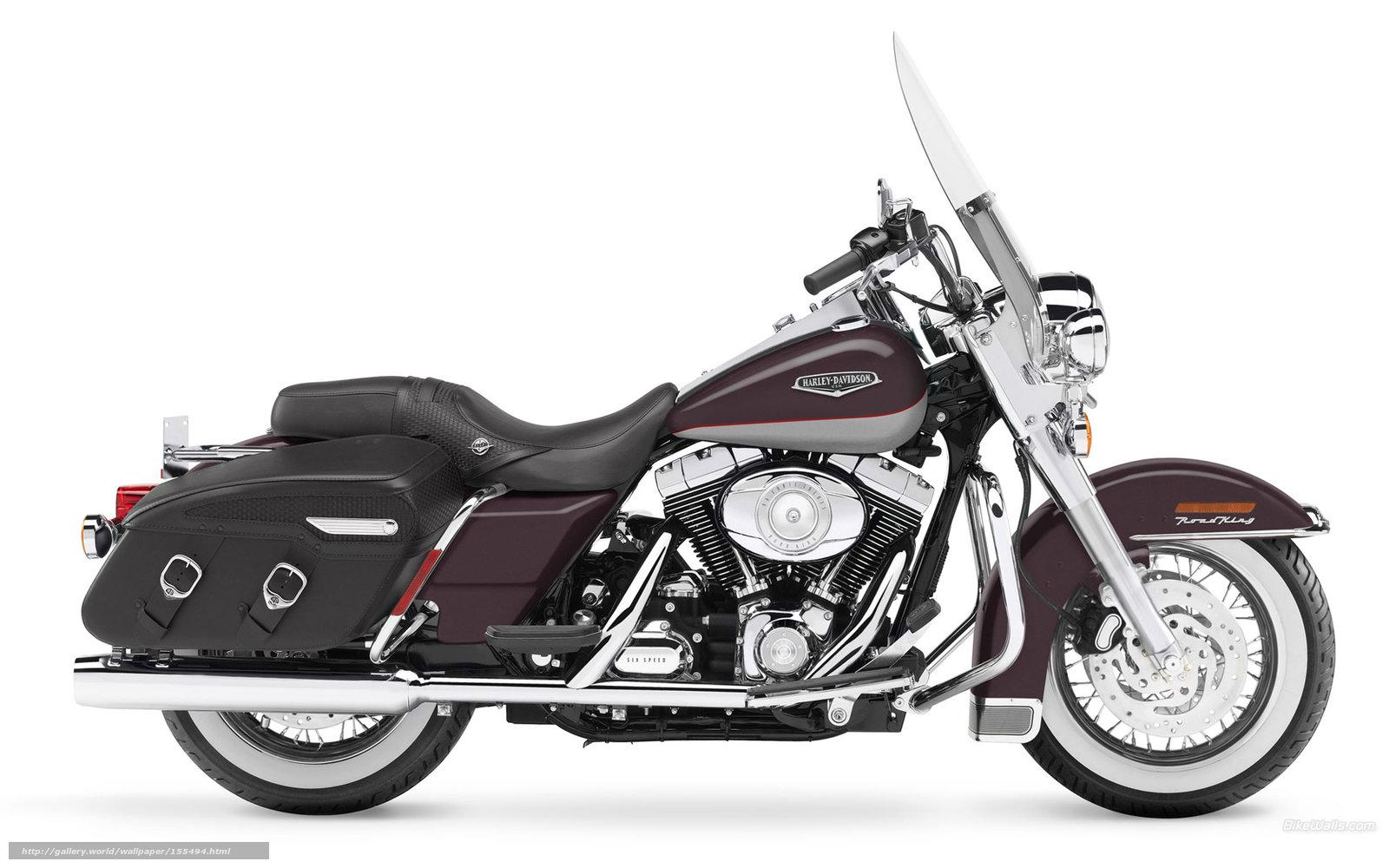 Download Wallpaper Harley-Davidson, Touring, FLHRC Road