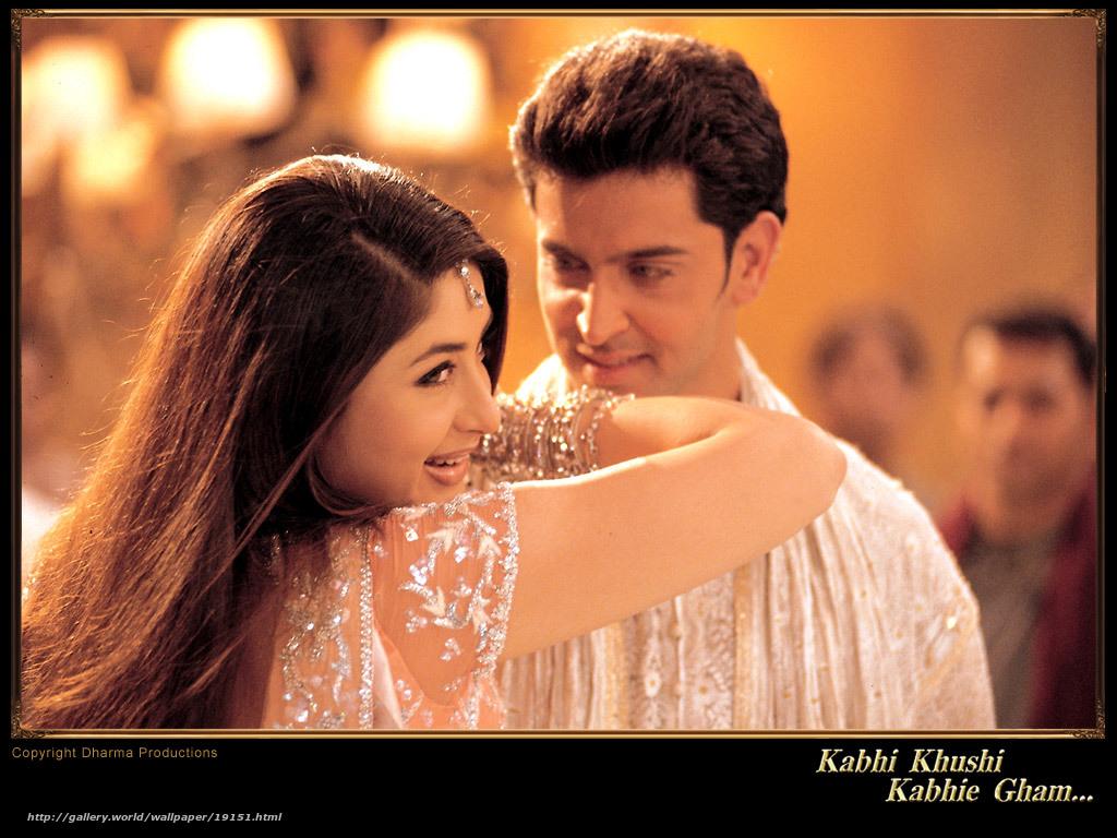 Trouver: et dans la douleur et dans la joie ... , kabhi khushi kabhie