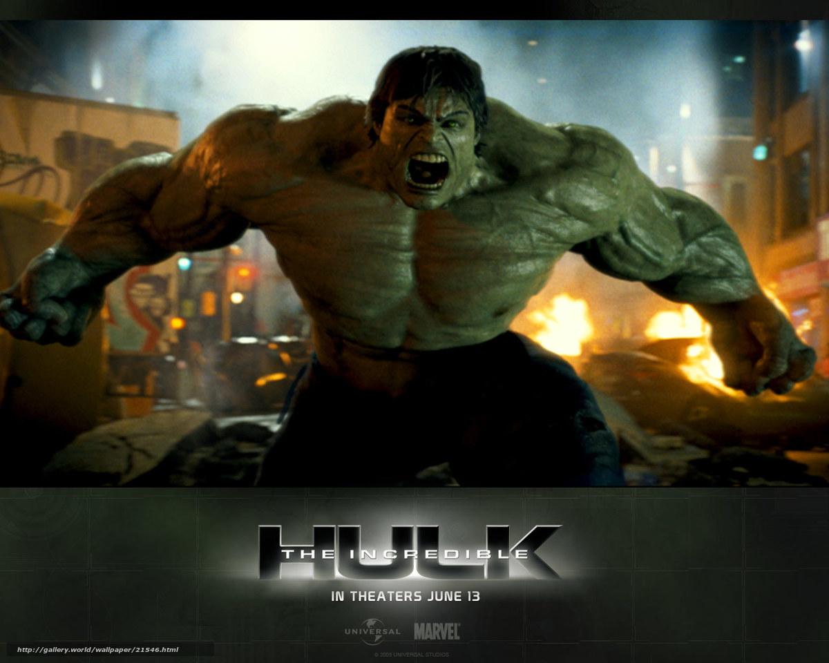Обои невероятный халк the incredible hulk