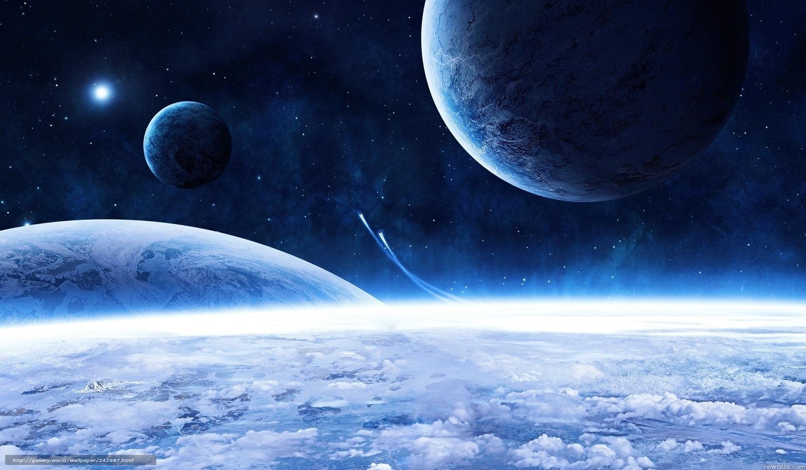 Космос планеты корабли