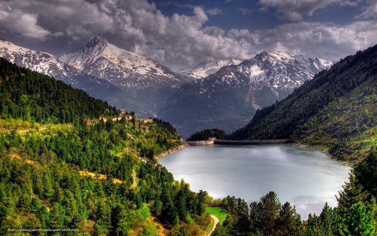 Плотина горы бесплатно