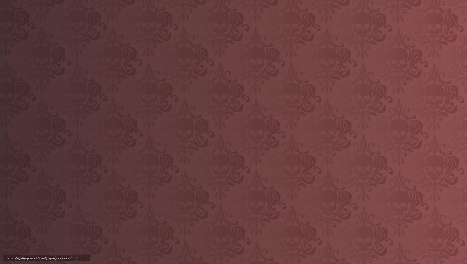 Download wallpaper Skull,  wallpaper,  texture,  overflow free desktop wallpaper in the resolution 5298x3000 — picture №323172