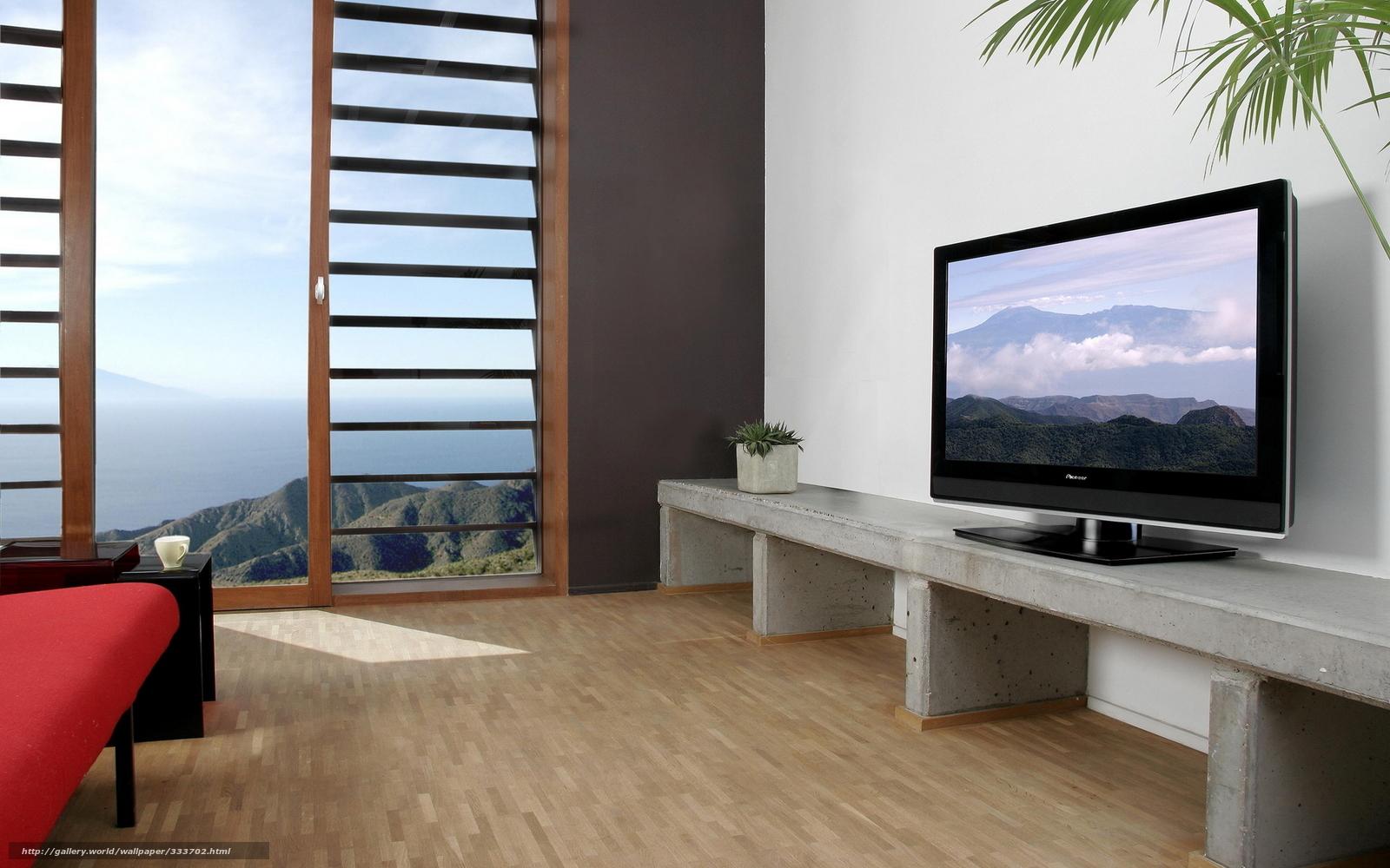 Дизайн стиль телевизор диван окно