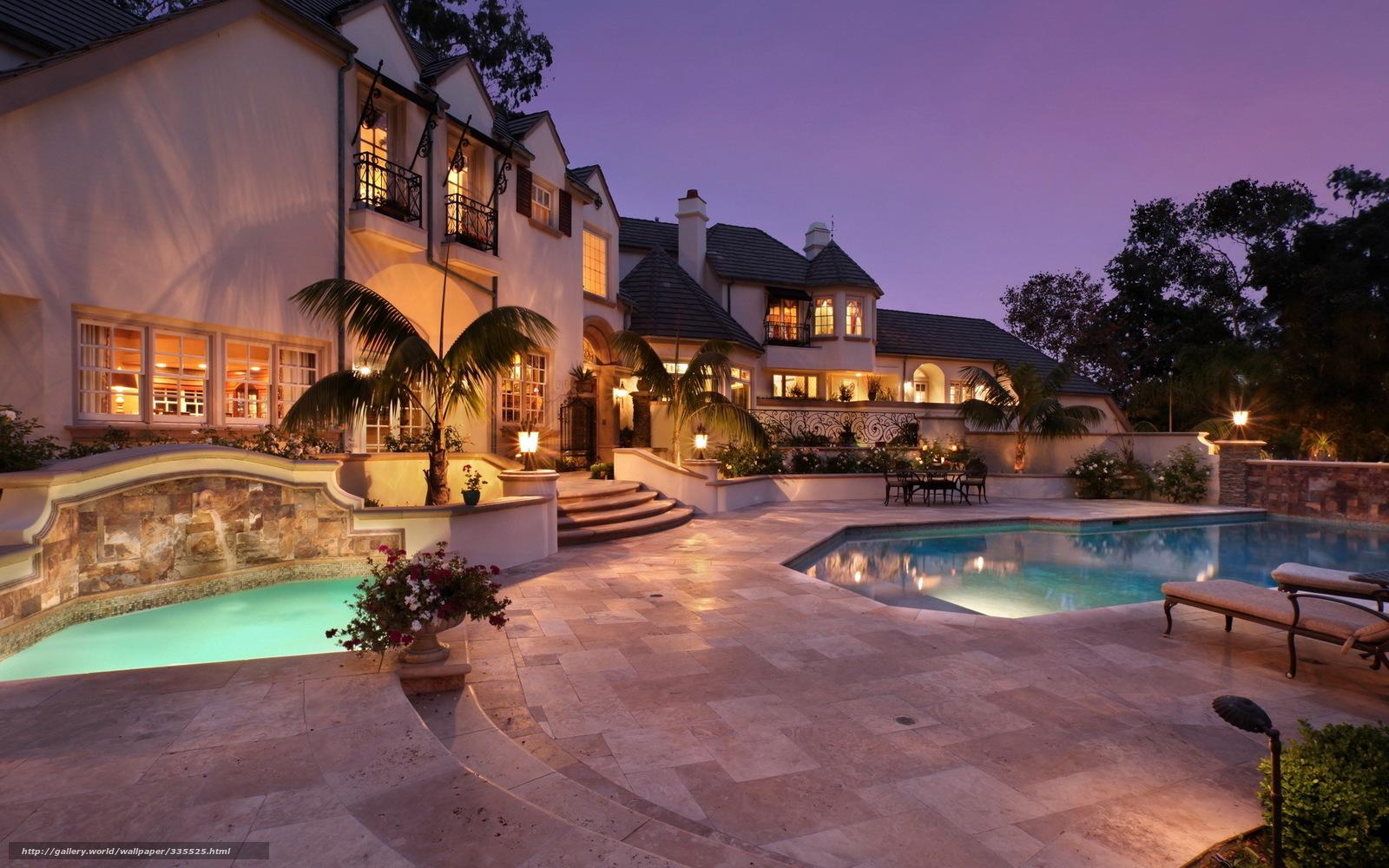 Вилла дом особняк дизайн бассейн