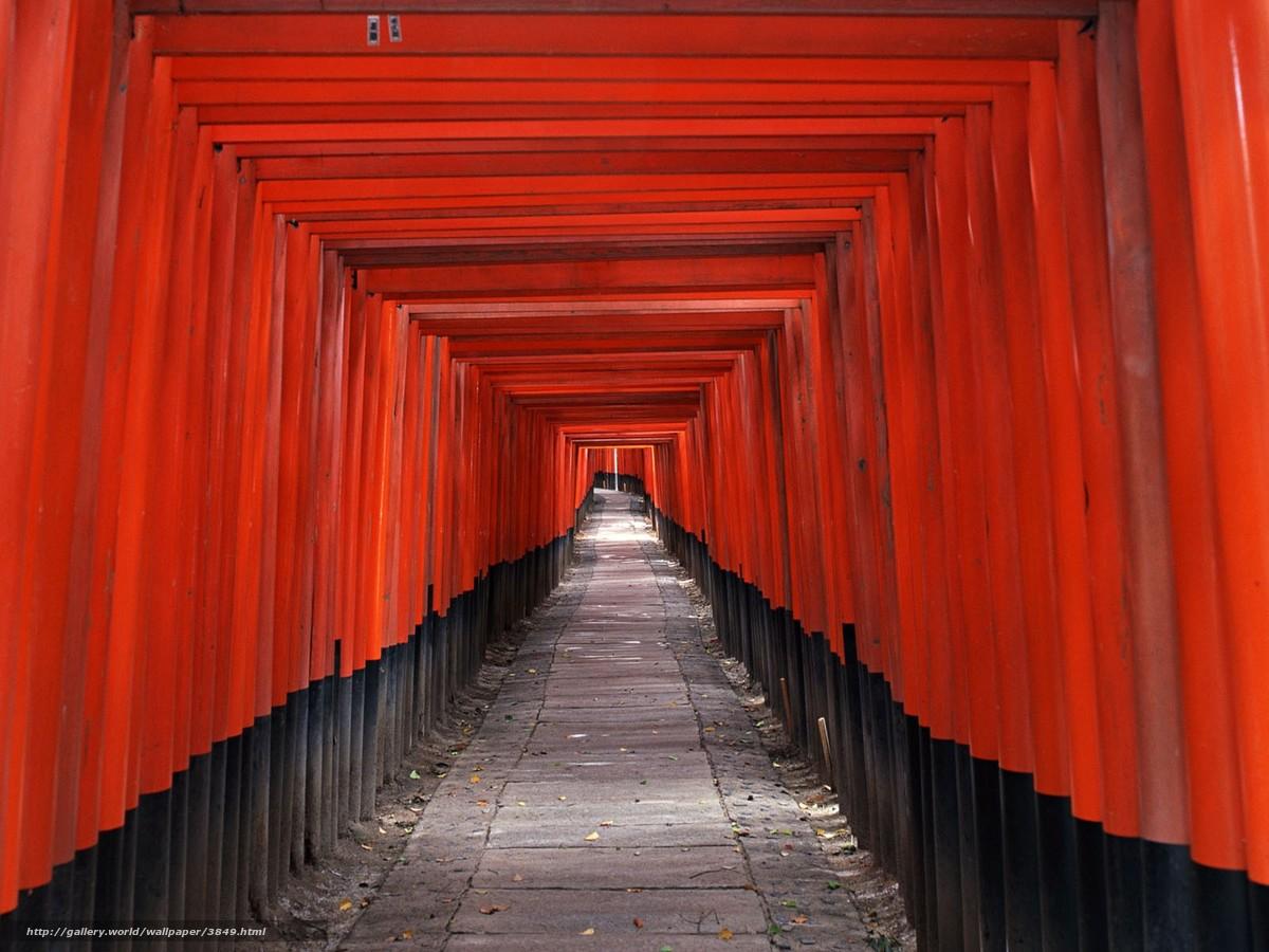 tlcharger fond d 39 ecran japon couloir rouge fonds d 39 ecran gratuits pour votre rsolution du. Black Bedroom Furniture Sets. Home Design Ideas