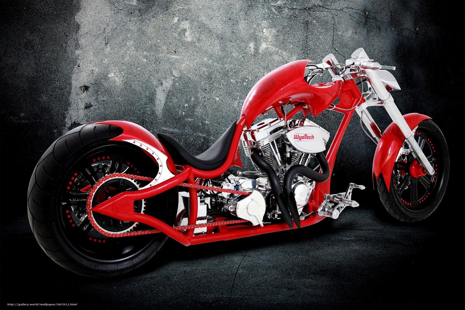 Download Wallpaper Red Bike Moto Cars Free Desktop
