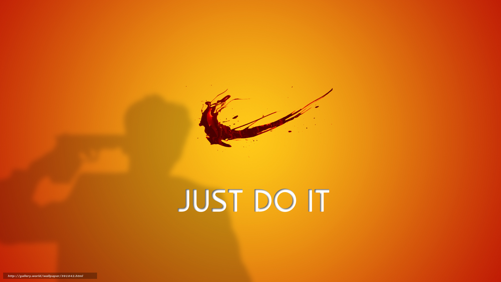 Download wallpaper Nike, kryzgi, blood free desktop ...