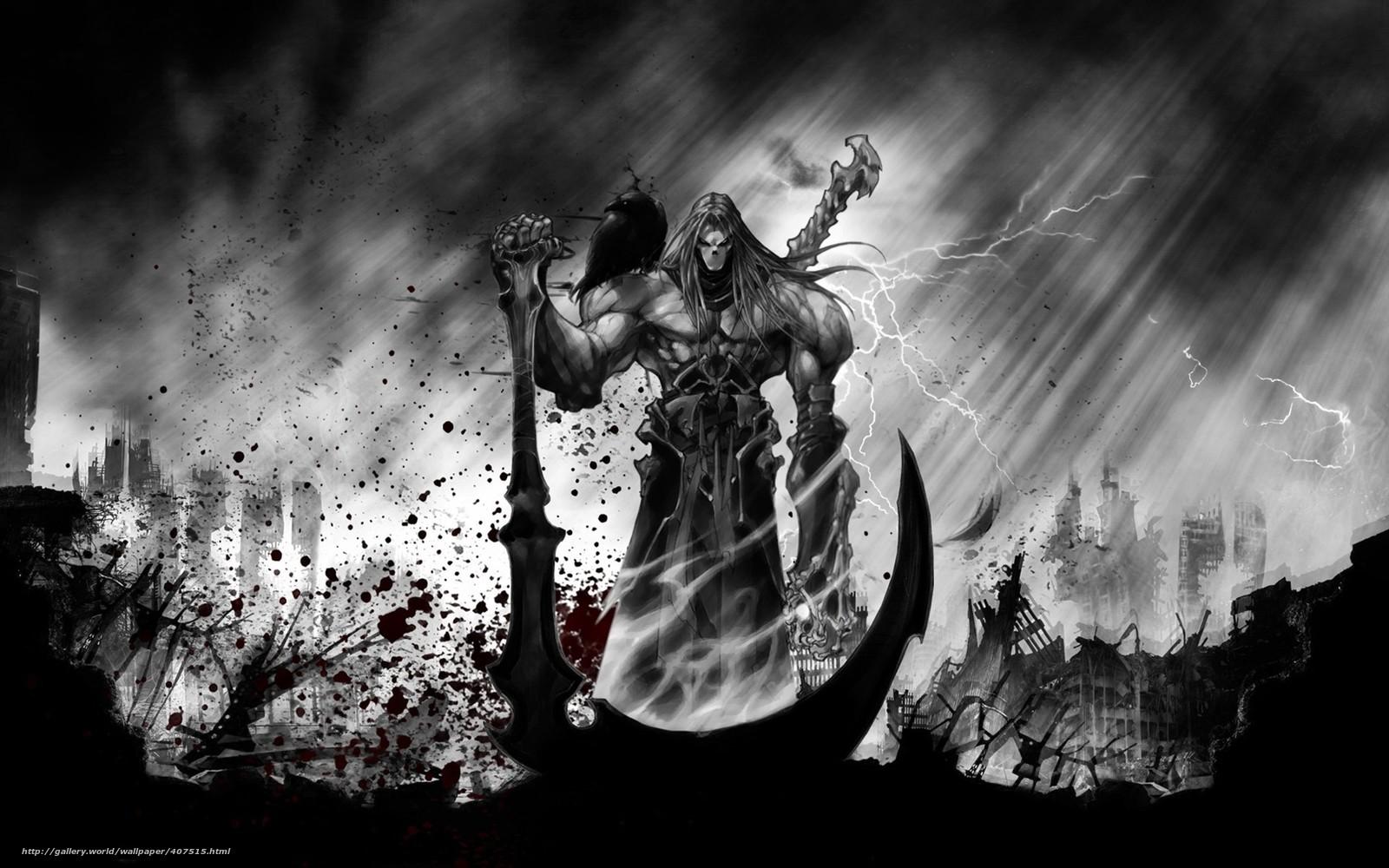 Descargar gratis darksiders 2 imagen muerte trenza fondos de escritorio en la resolucin - Descargar darksiders 2 ...
