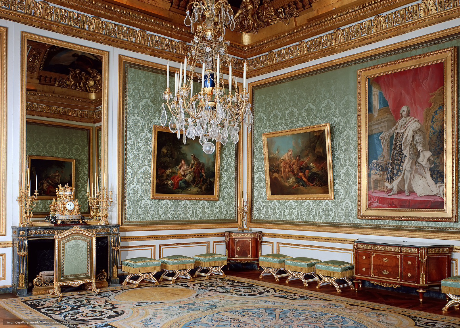 Download wallpaper france versailles palace interior for Salon de versailles 2016