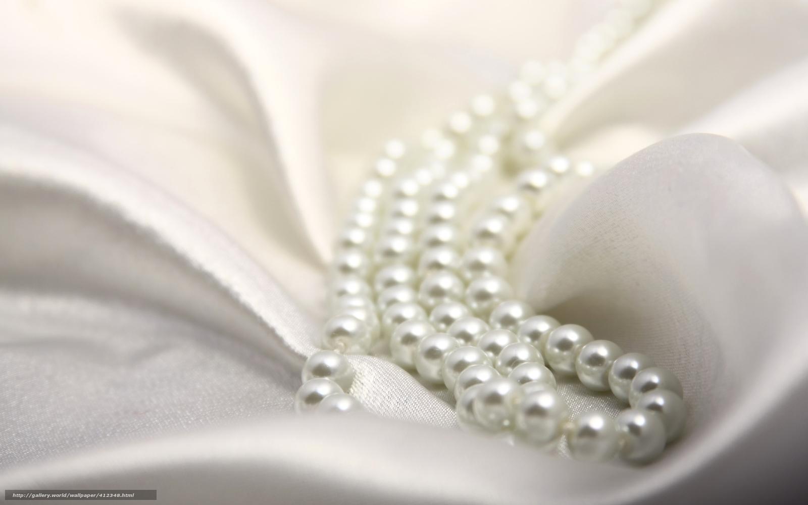 Descargar Gratis Seda Perla Tejido Color Blanco Fondos De