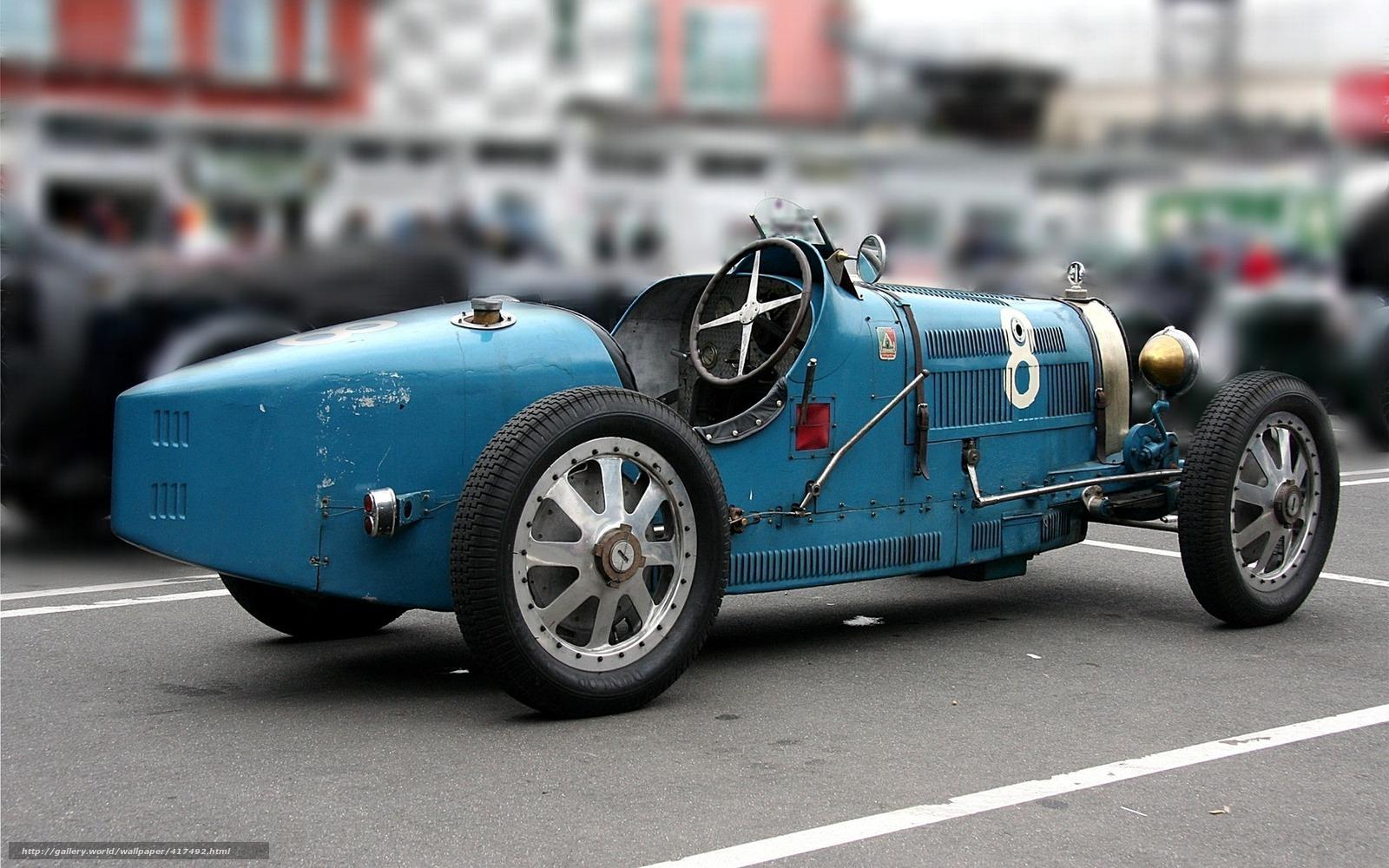Обои картинки фото bugatti, 35b, гон…