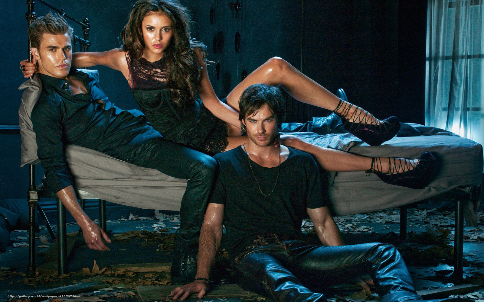 Download wallpaper The Vampire Diaries, series, Paul ...
