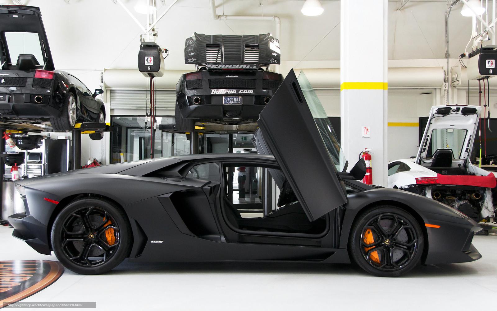 Tlcharger Fond D Ecran Garage Papier Peint Lamborghini