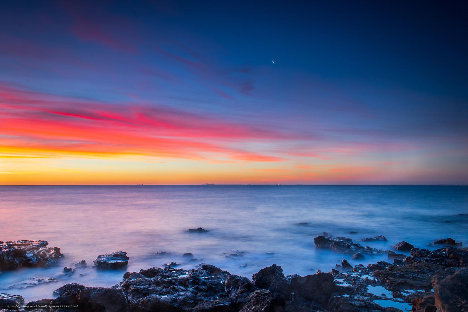 Scaricare gli sfondi australia melbourne cielo tramonto for Desktop gratis mare