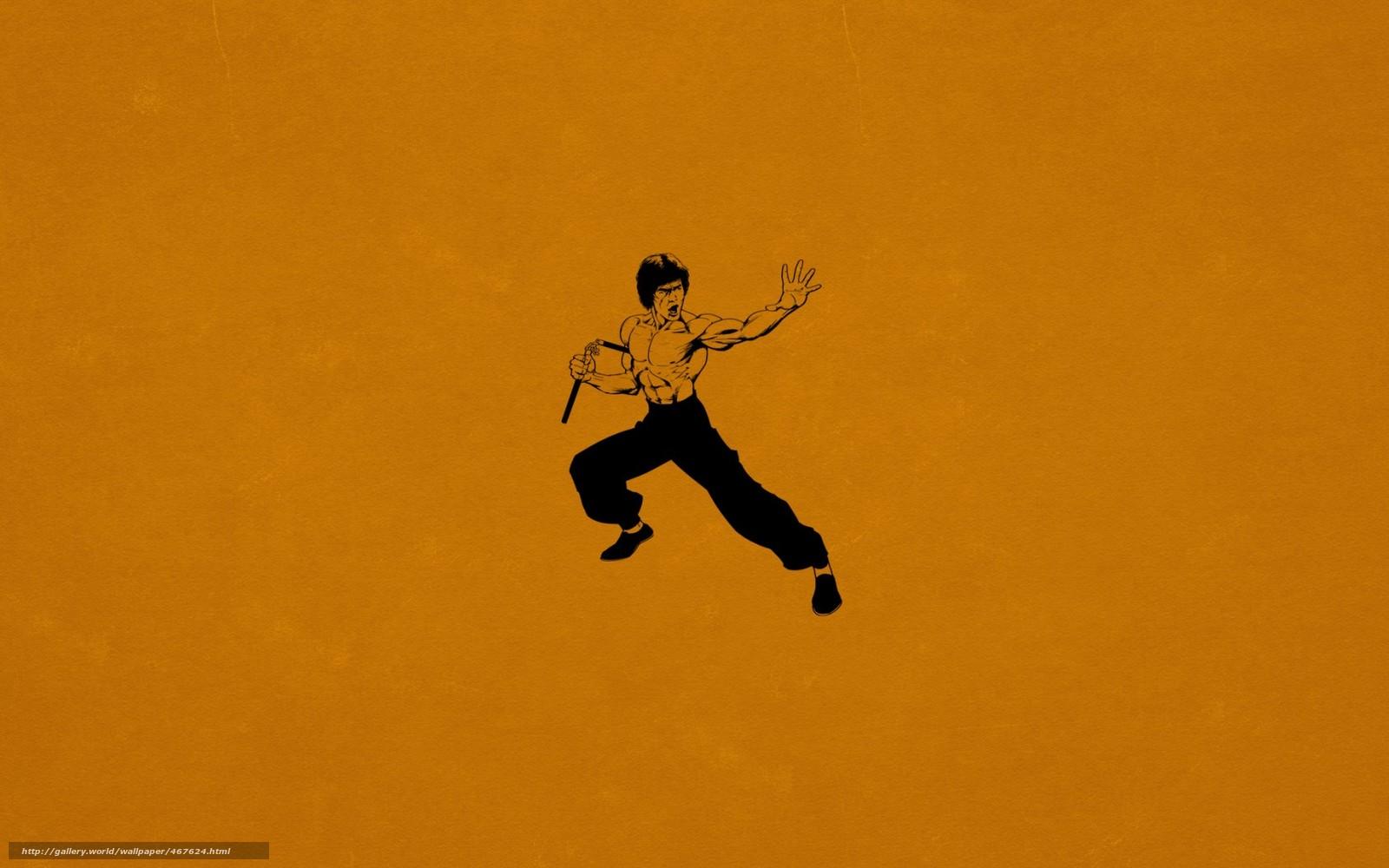 pobra tapety Bruce Lee...
