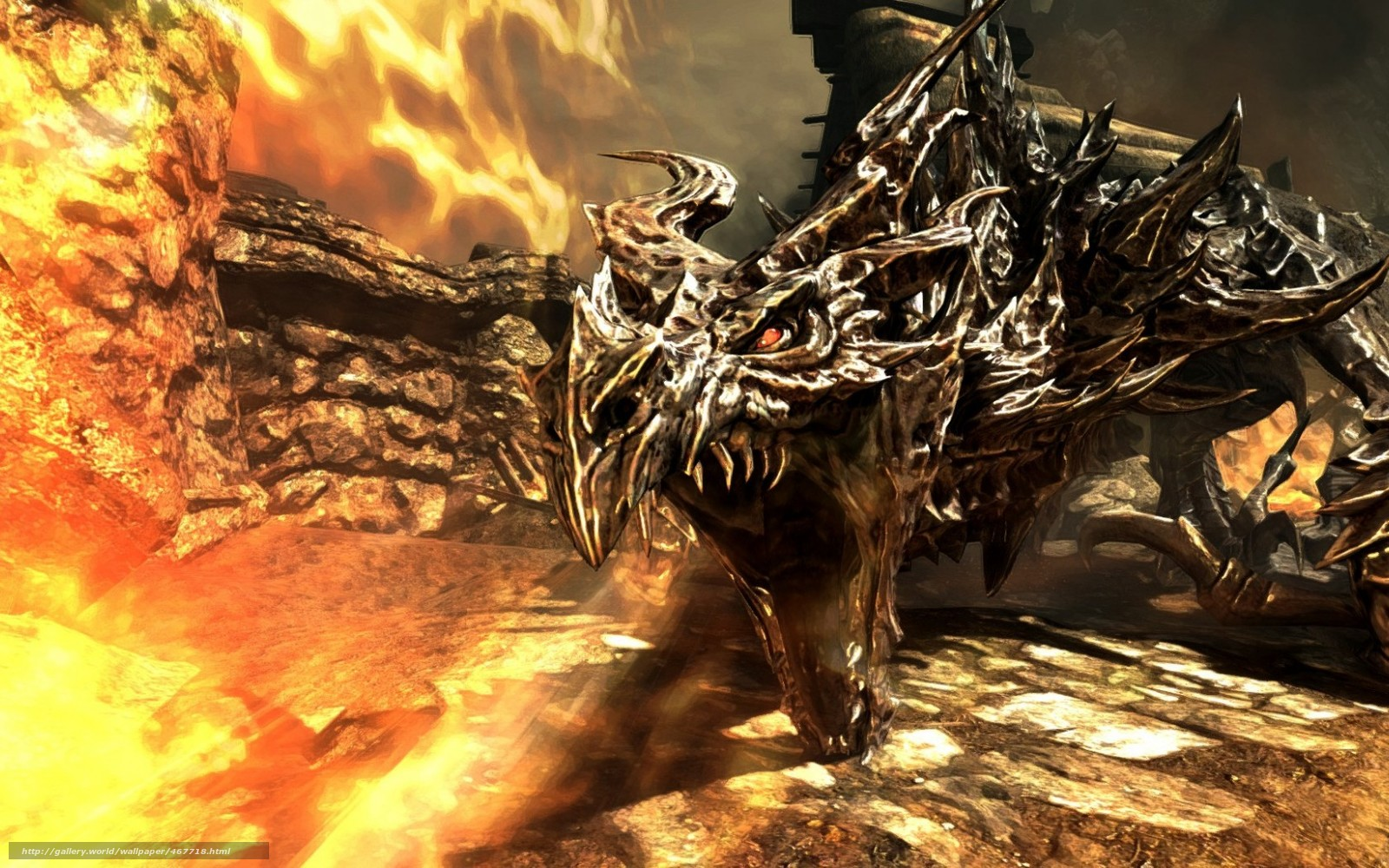скачать обои дракон: