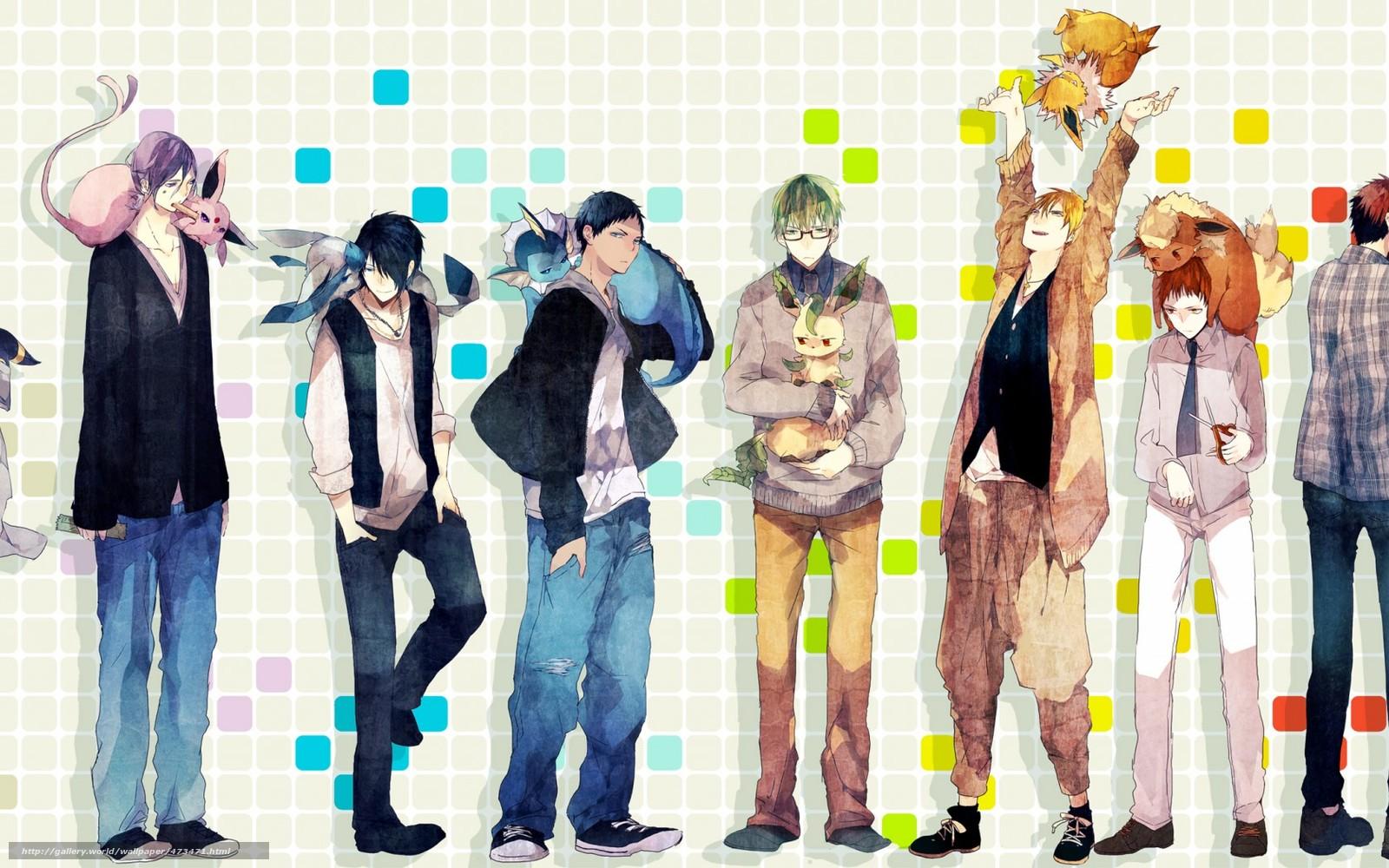 скачать картинки аниме парней: