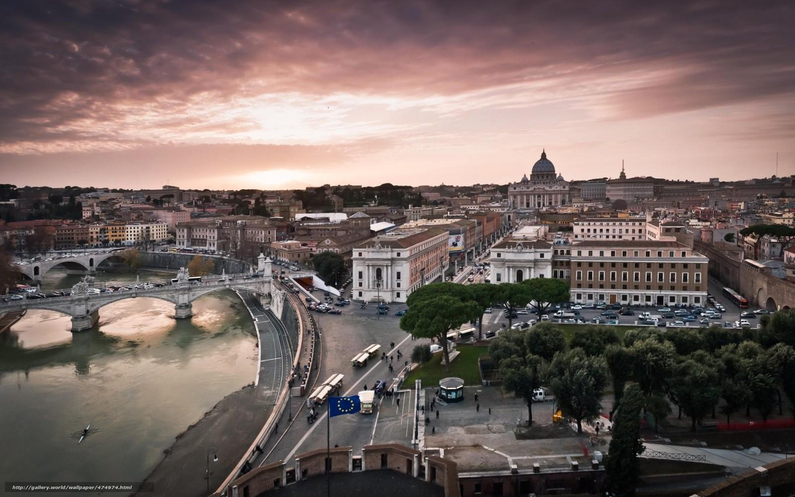 Город италия ватикан улица дорога