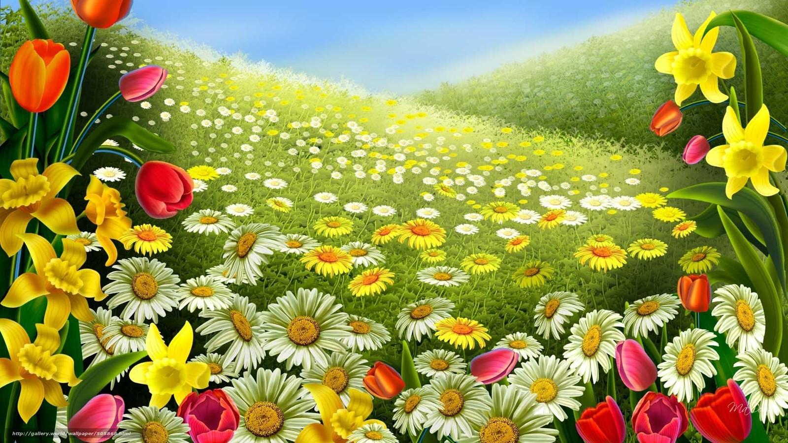 Scaricare gli sfondi primavera estate natura cielo for Immagini gratis per desktop primavera