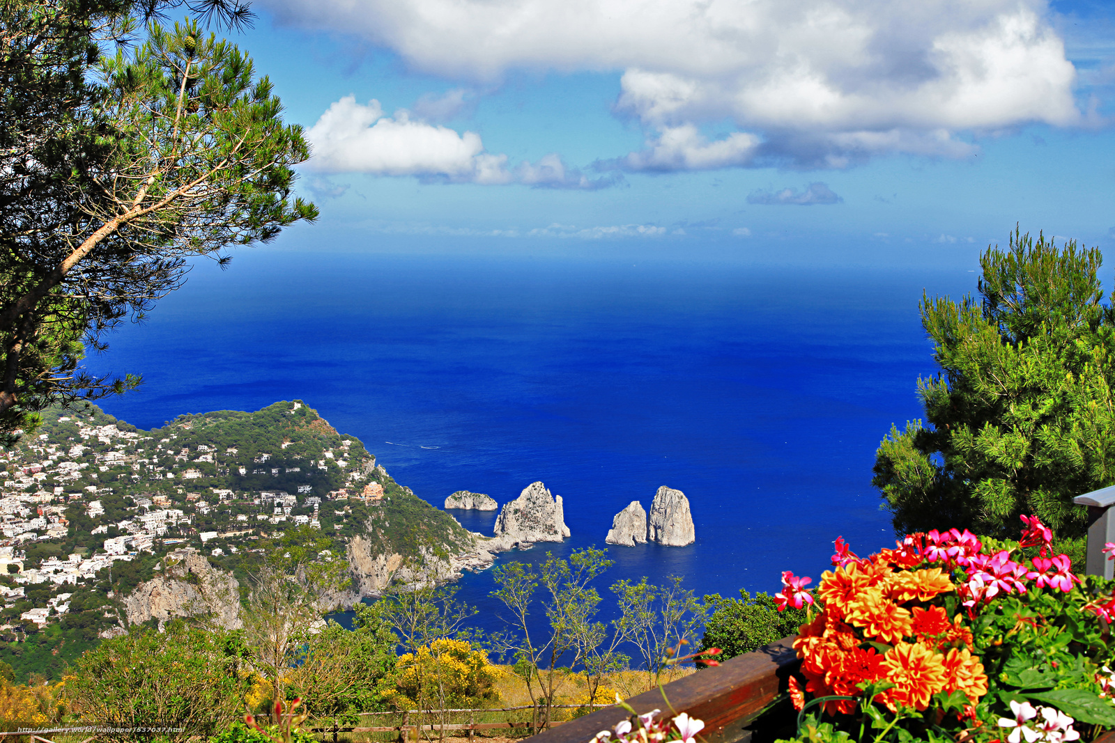 Download wallpaper anacapri capri campania naples free - Naples italy wallpaper ...