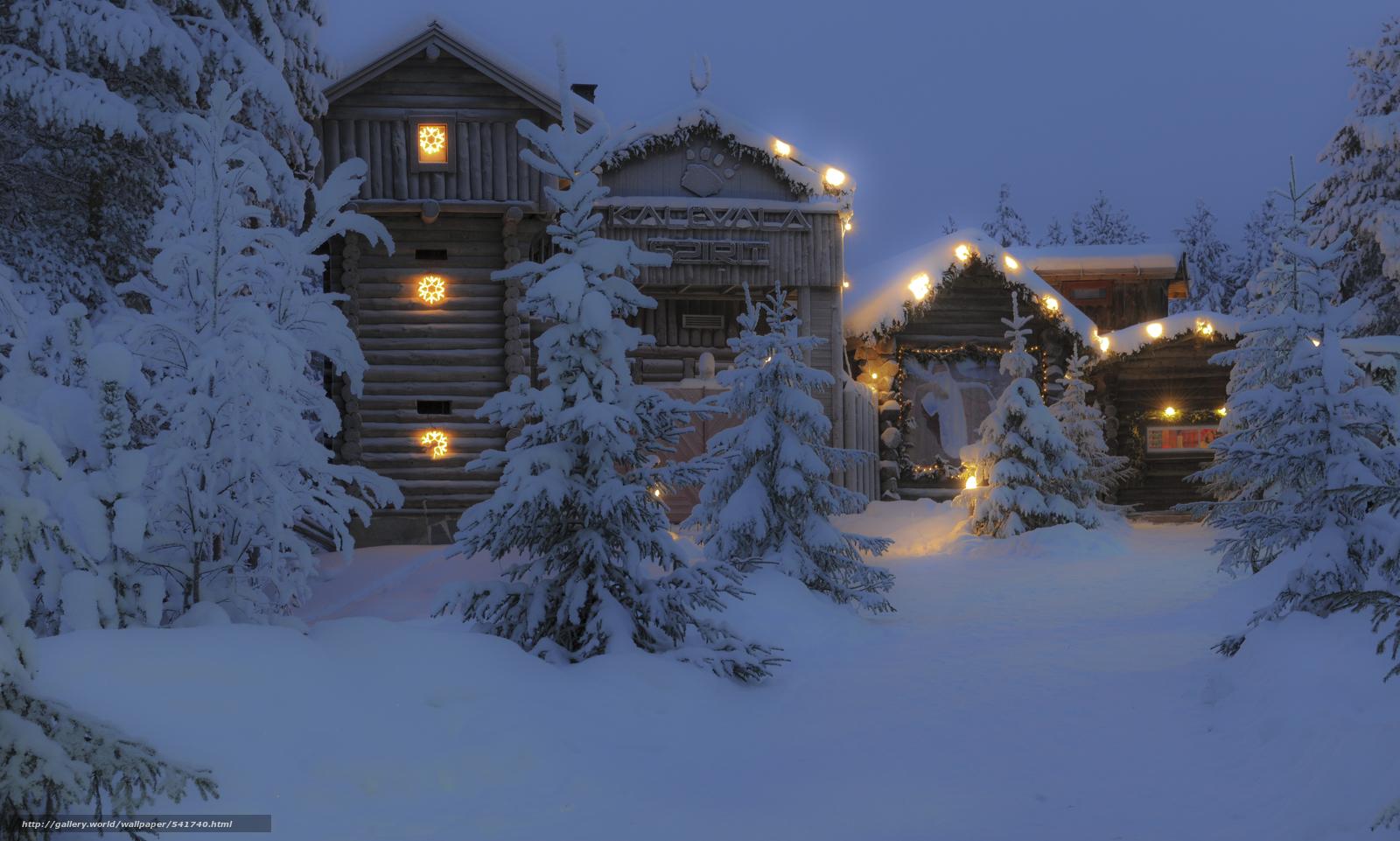 Village Christmas Lights