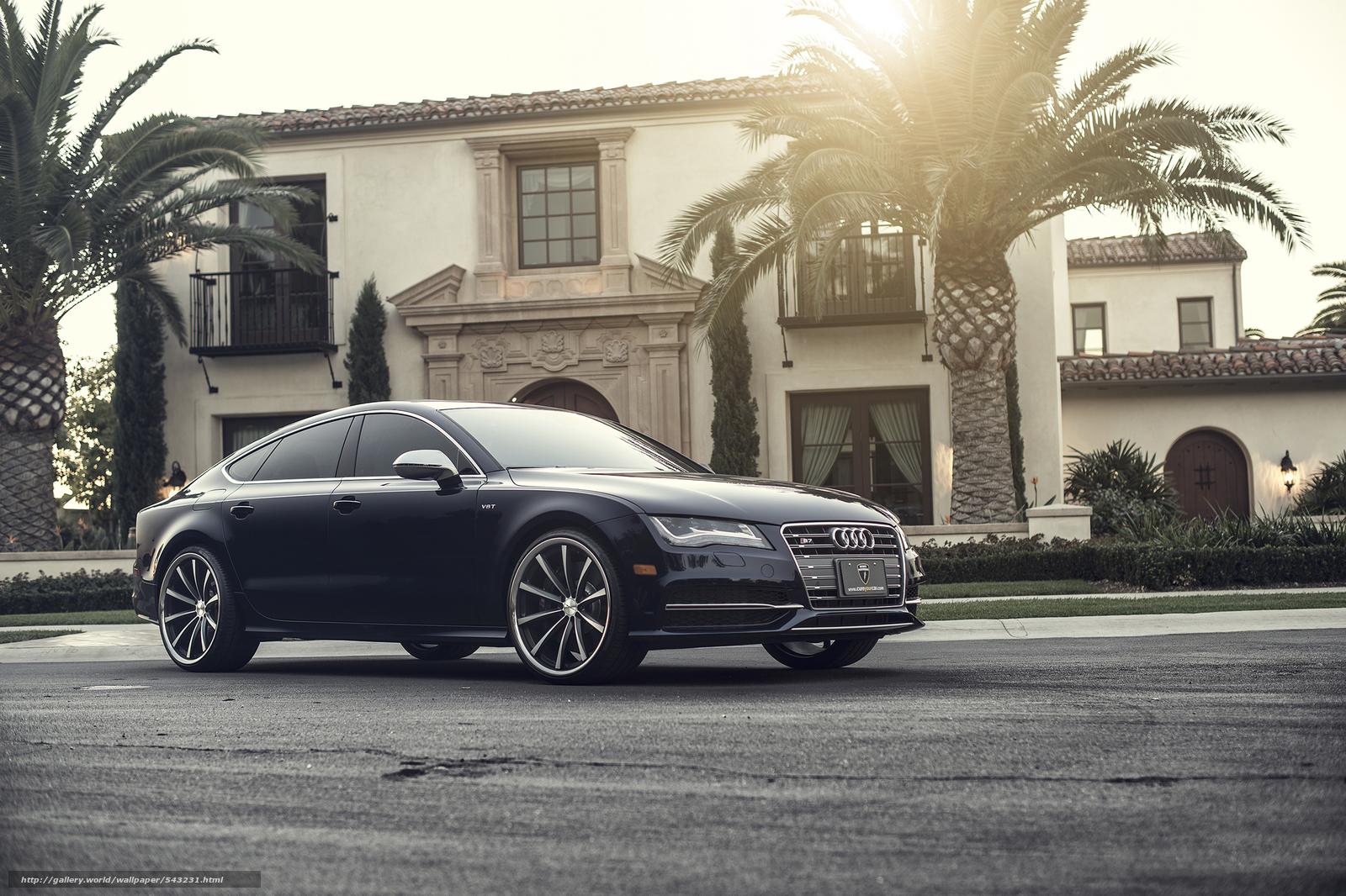Audi Rs7 Matte Black