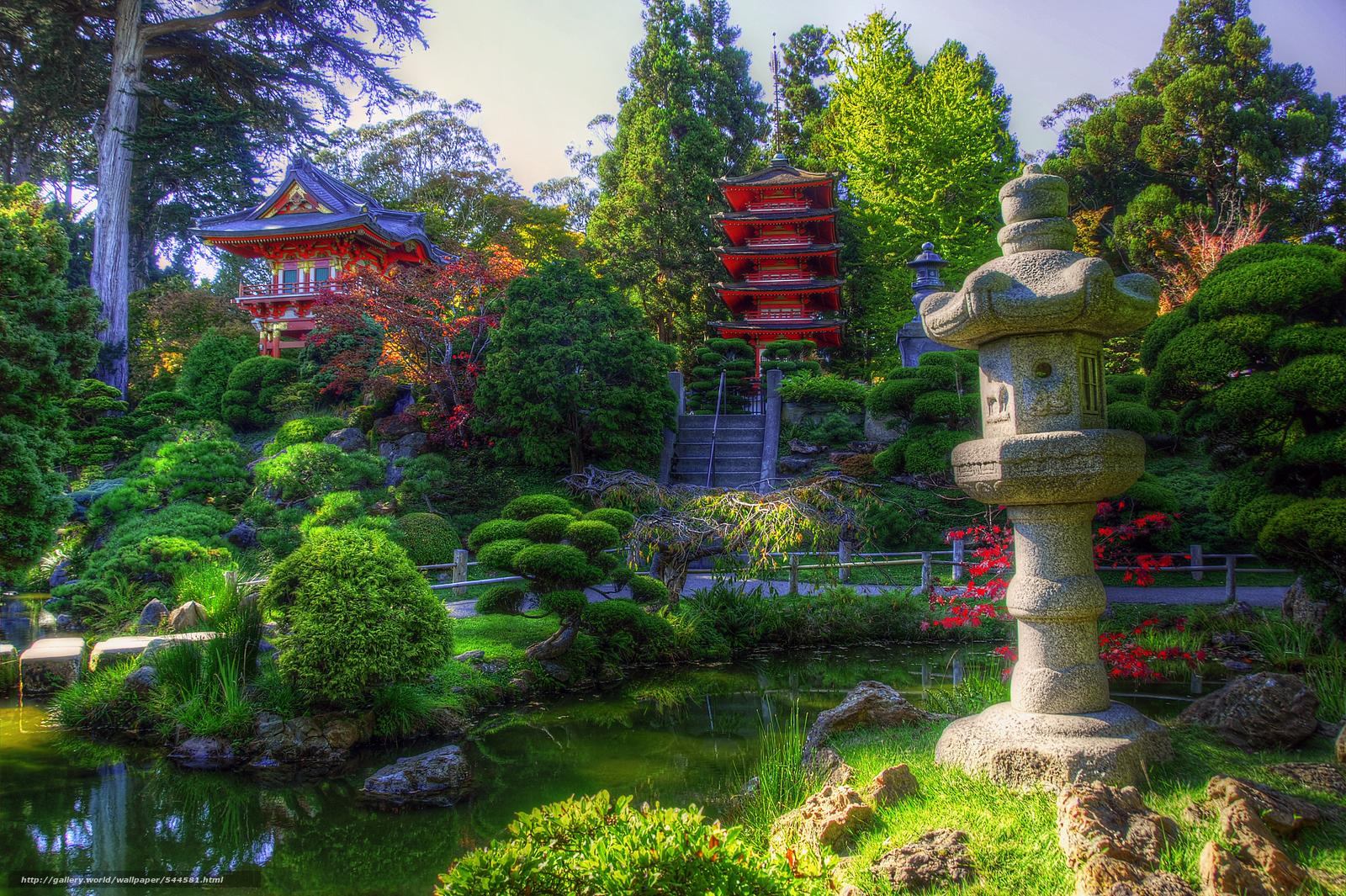 Download Wallpaper San Francisco California Japanese Tea Garden Japanese Garden Free Desktop