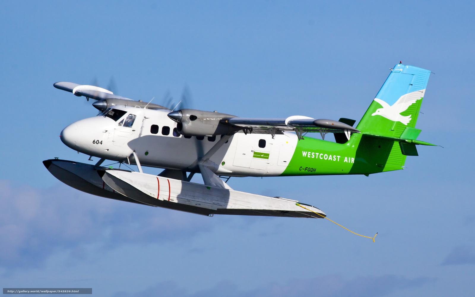 下载壁纸 水上飞机, 加拿大德哈维兰dhc-6双水獭