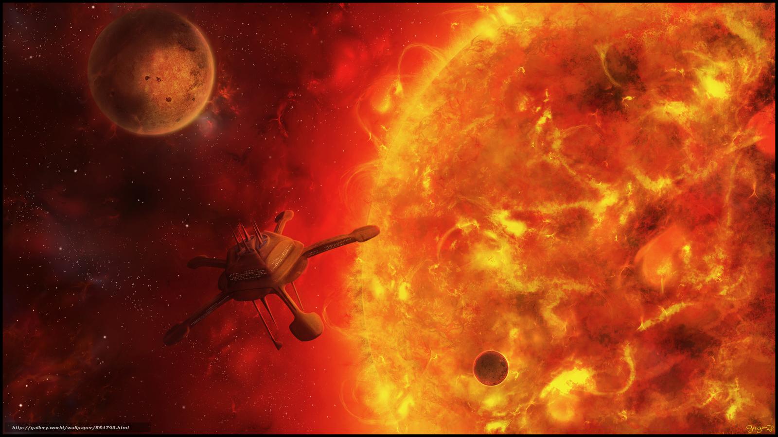Космос / 554793 Ручное изменение размера ...: ru.gde-fon.com/download/kosmos_3d_art/554793/2560x1440