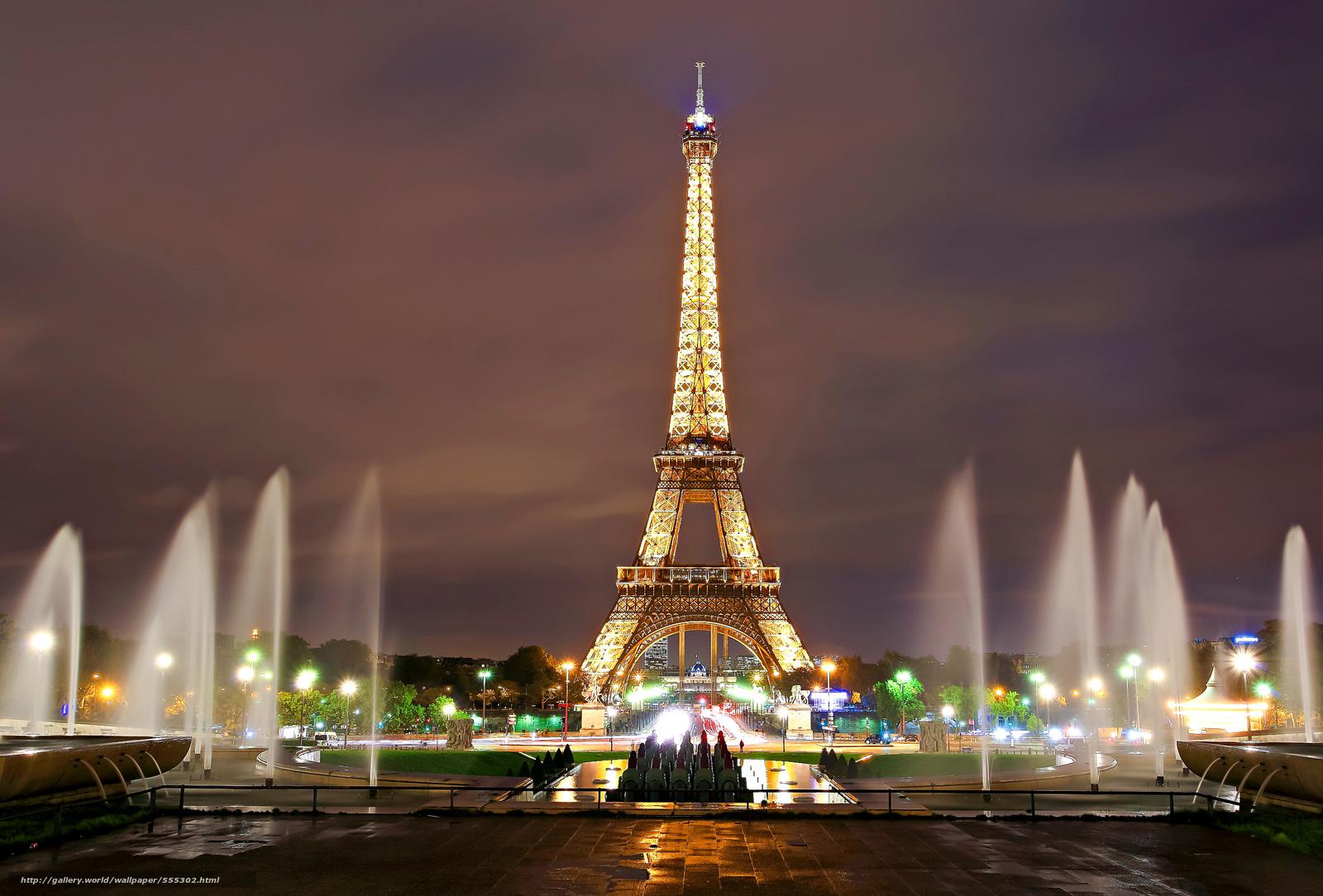 下载壁纸 艾菲尔铁塔 巴黎 艾菲尔铁塔 免费为您的桌面分辨率的壁纸 5052x3423 图片 №555302