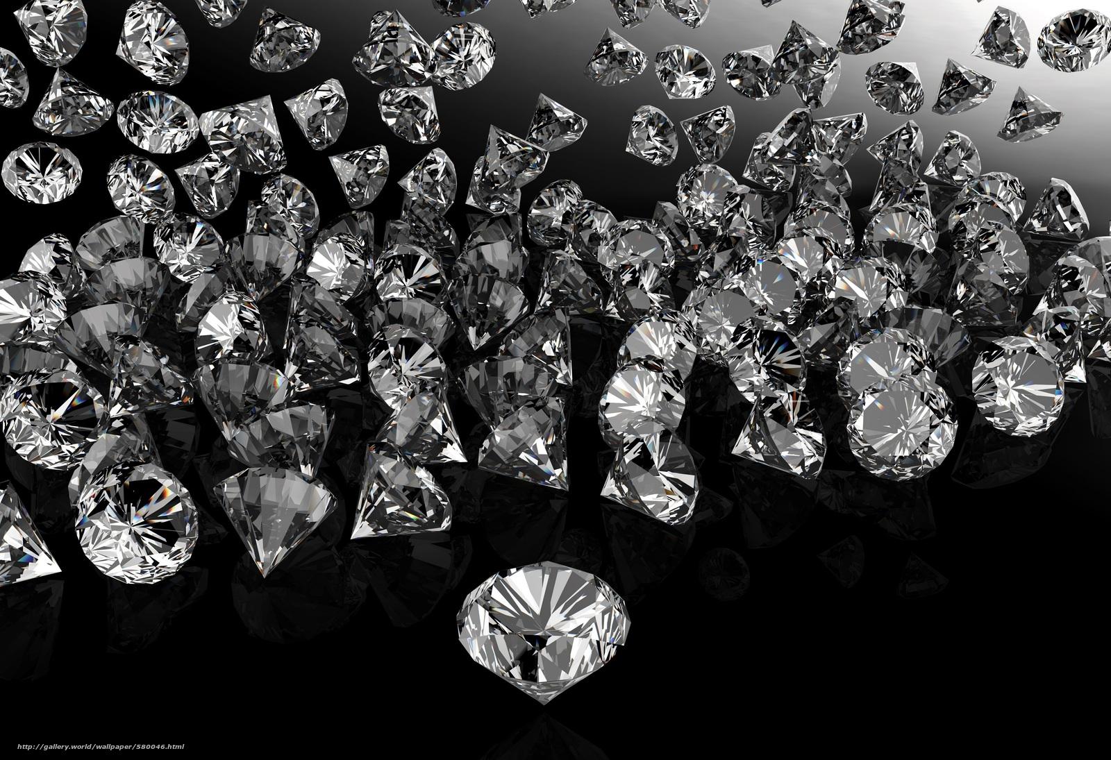 Scaricare Gli Sfondi Ciottoli Sfondo Nero Diamanti