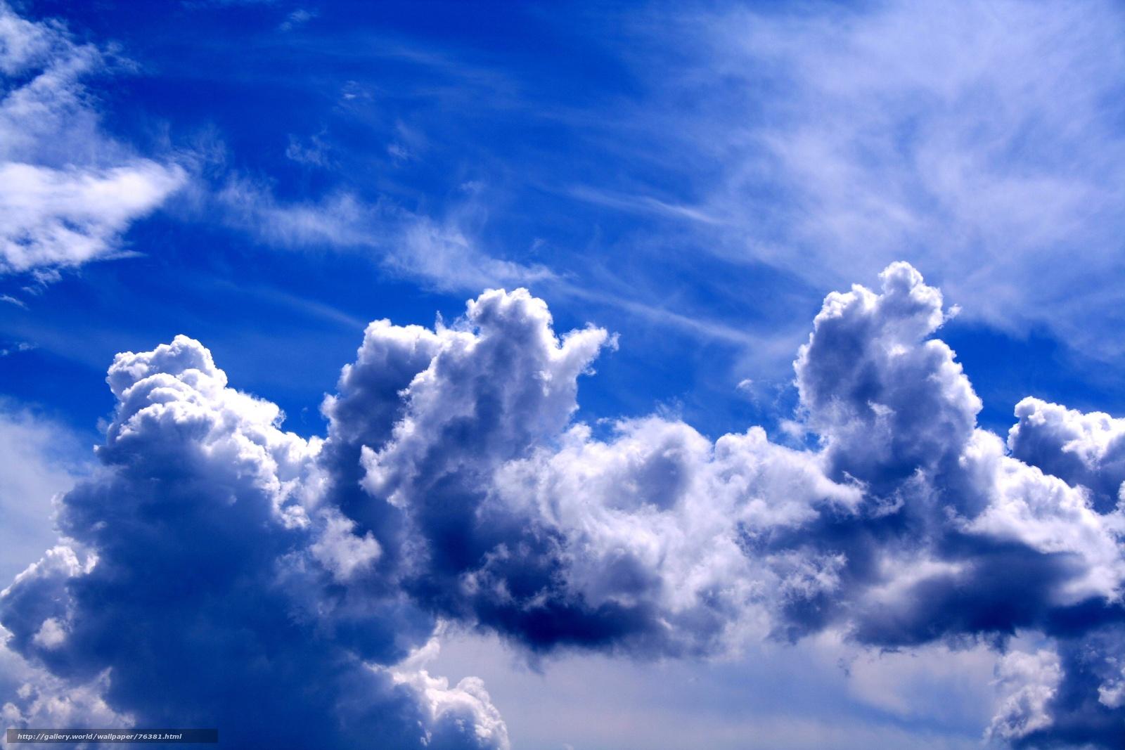Descargar gratis las nubes paisaje papel pintado cielo - Papel pintado paisajes ...