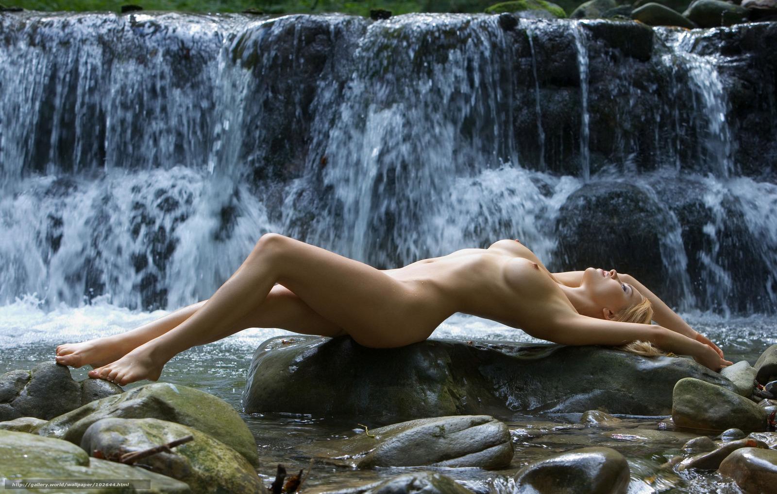 Секс в 3 у водопада 19 фотография