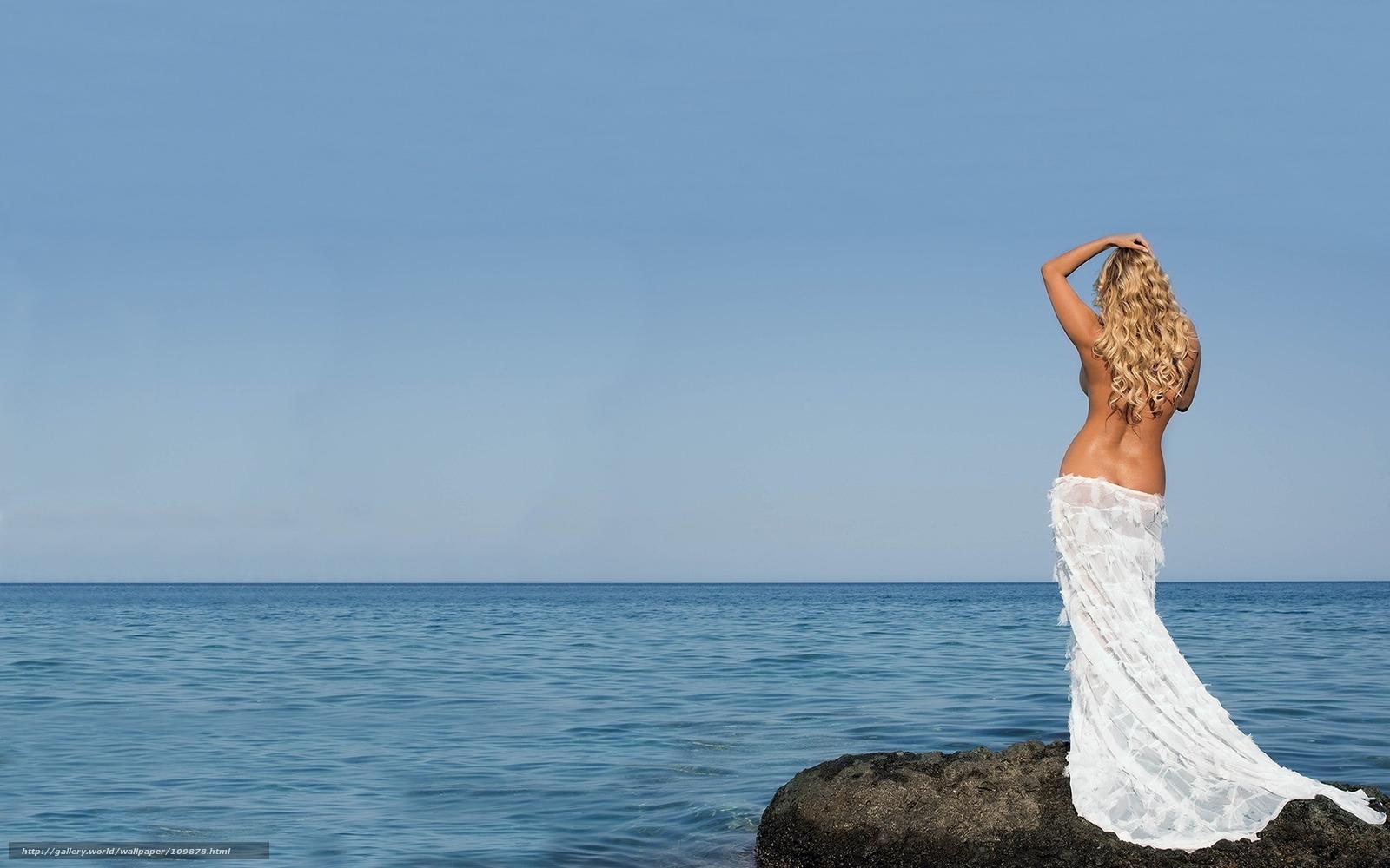 Фотографии девушка блондинка со спины 6 фотография