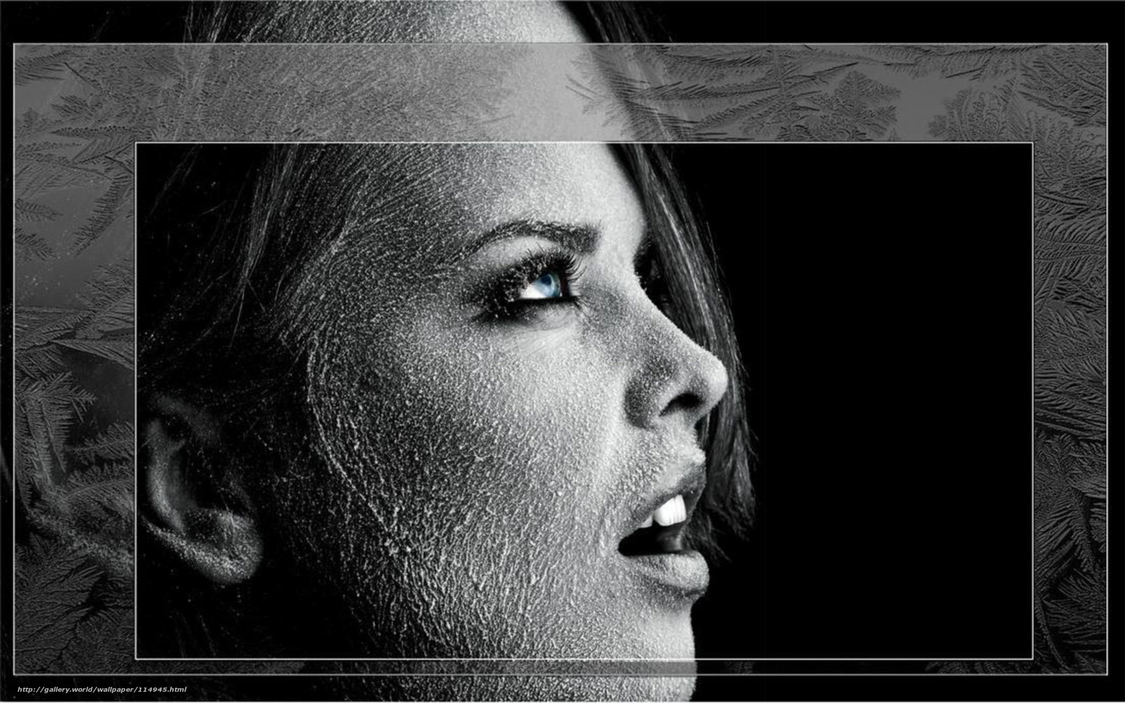 Черно белое креативное фото девушек 4 фотография