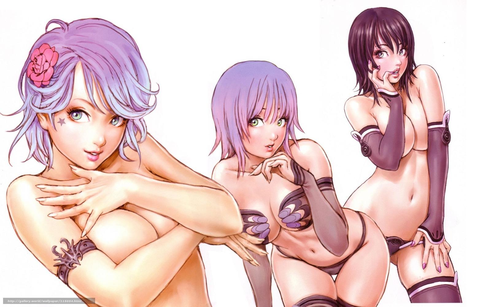 Сиськи аниме девушек картинки 14 фотография