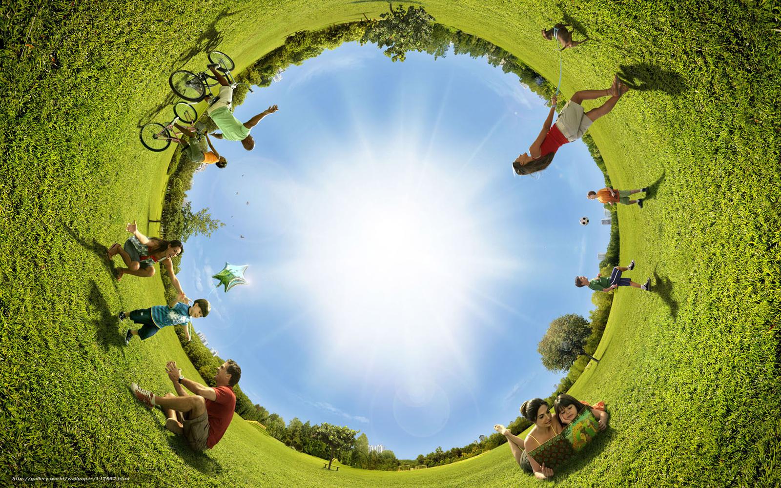 фотографии людей на природе:
