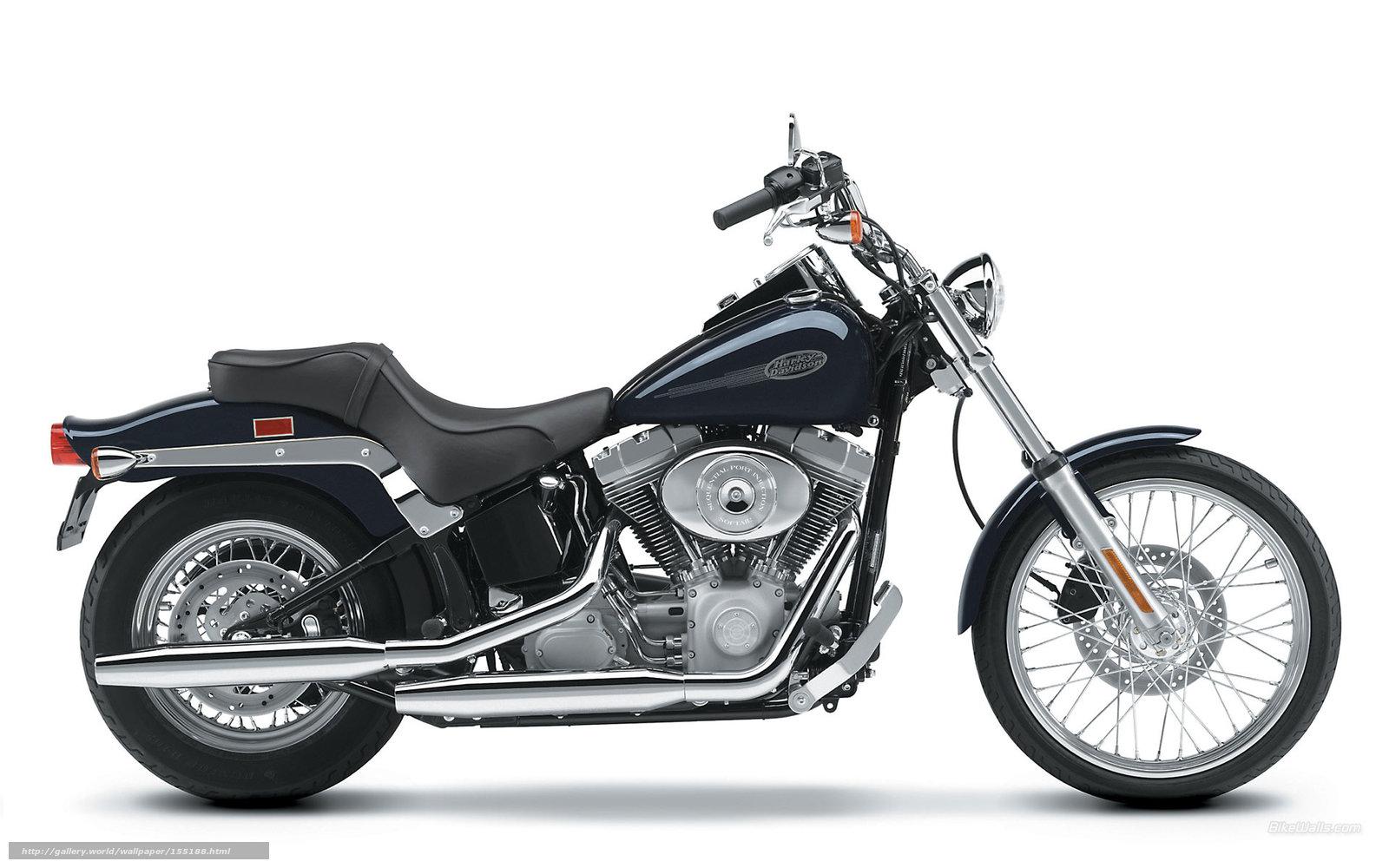 Harley-davidson fxst softail standard 1988 pics #163025