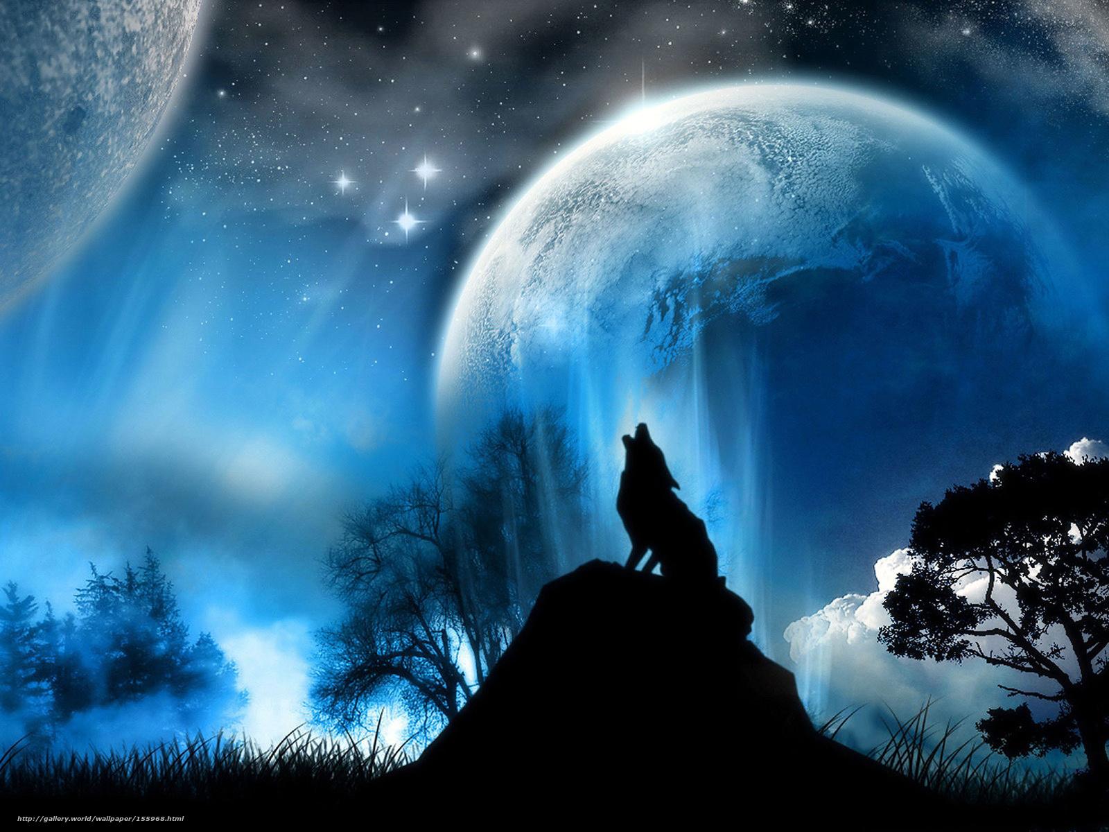 фэнтези, волк
