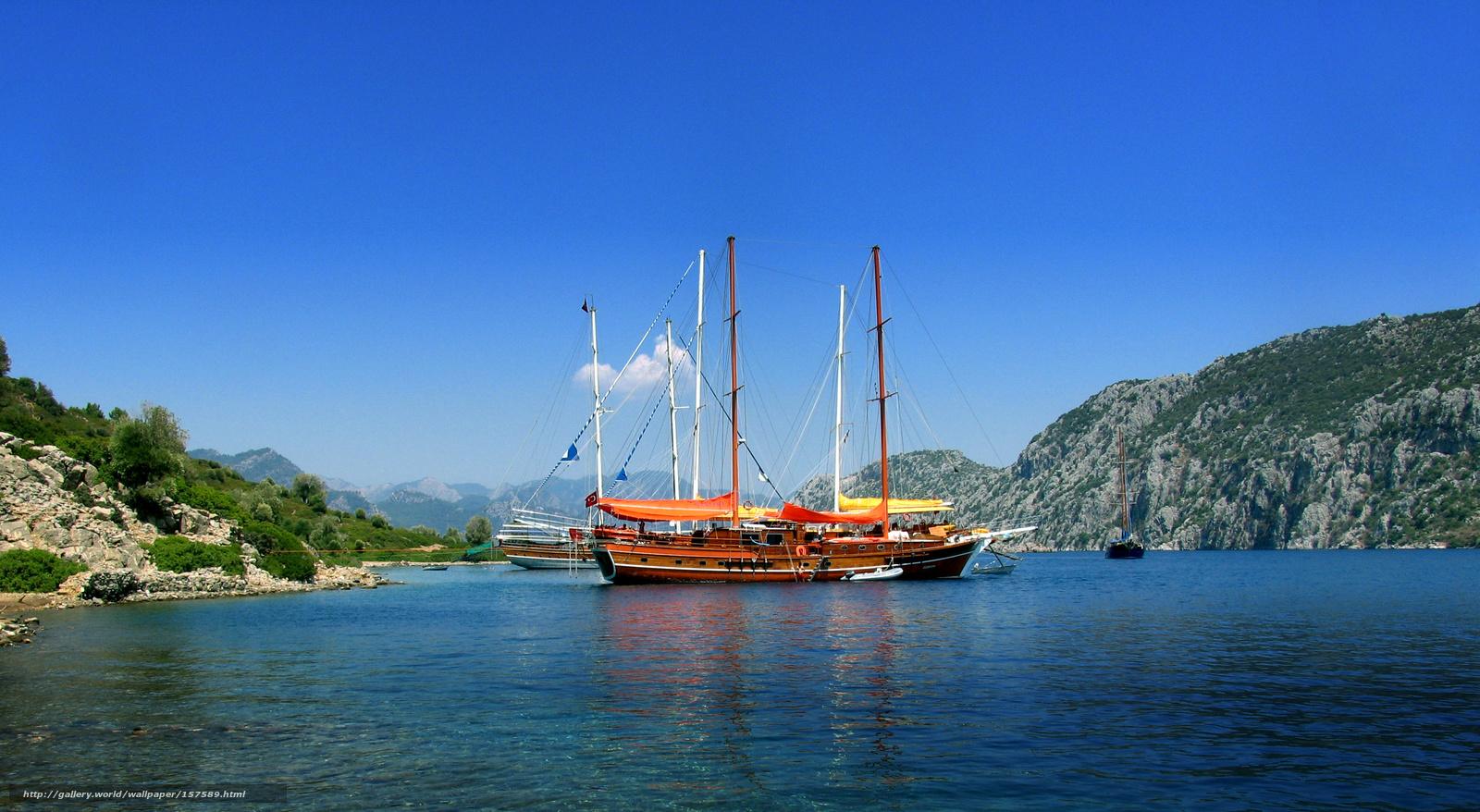 Фото яхти у морі 6 фотография