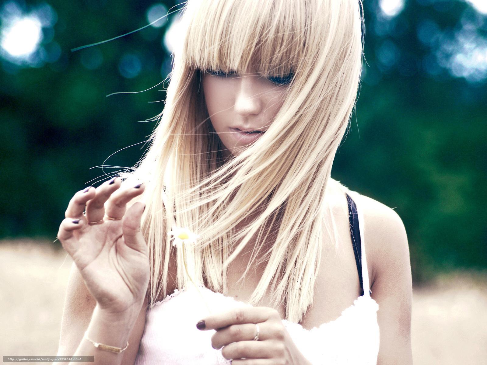 Як перемалювати волосся з русого в блондинку 3 фотография