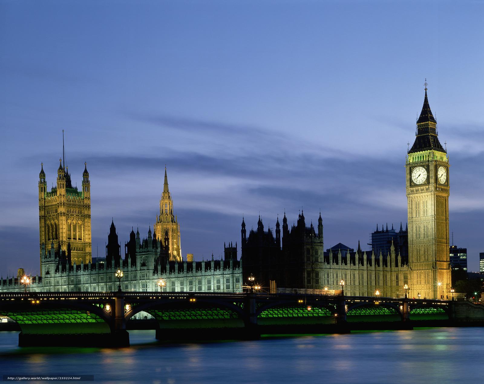Англия лондон парламент биг бен