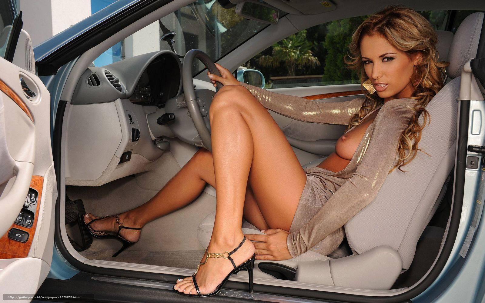 Фото голых девушек и дорогих авто 4 фотография