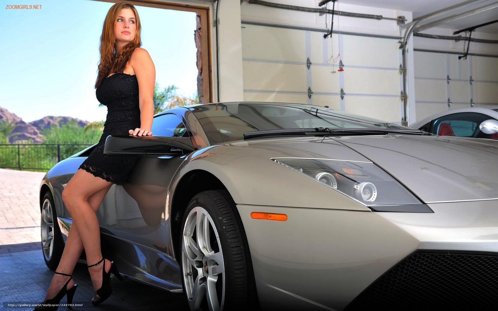 Рыжие девушки с машинами фото 9 фотография