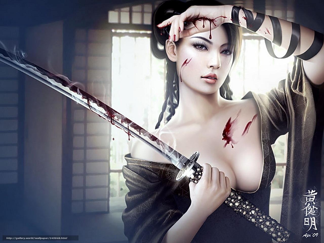 Samurai sexy hot girl pics sex pics