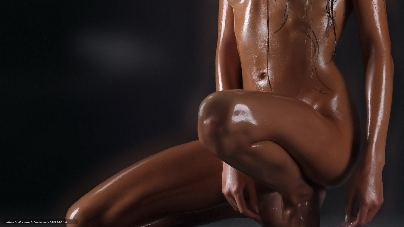 Точеные тела обнаженных девушек