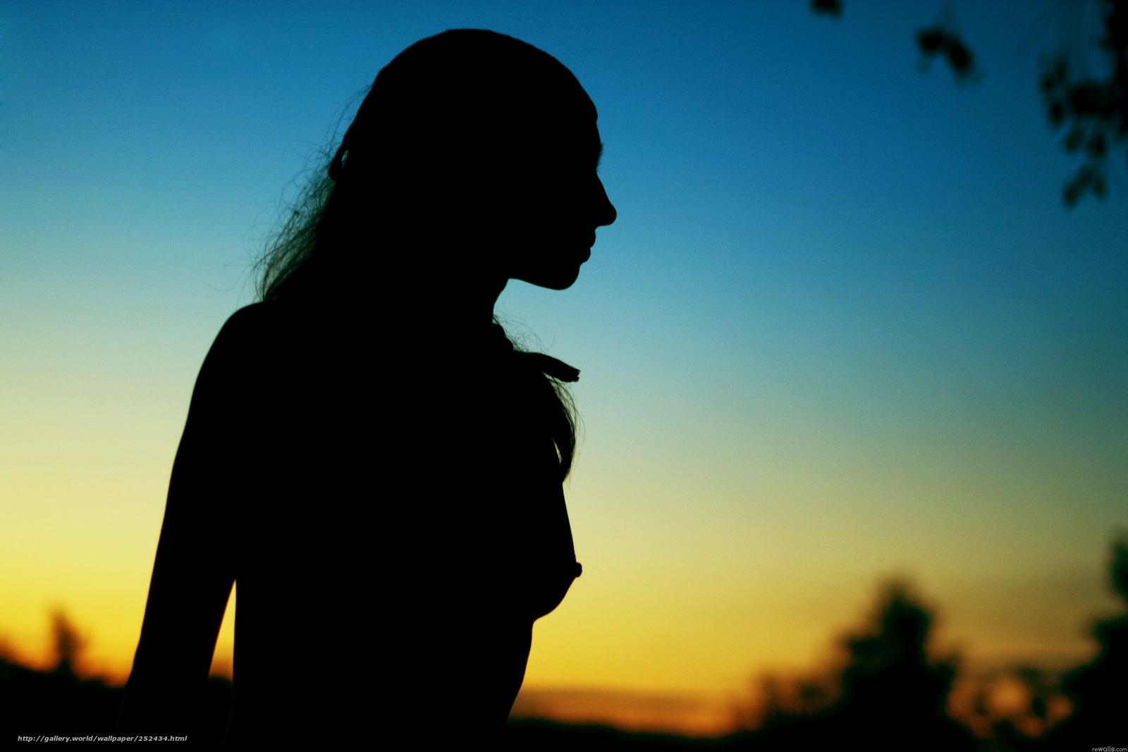тень девушки фото девушки