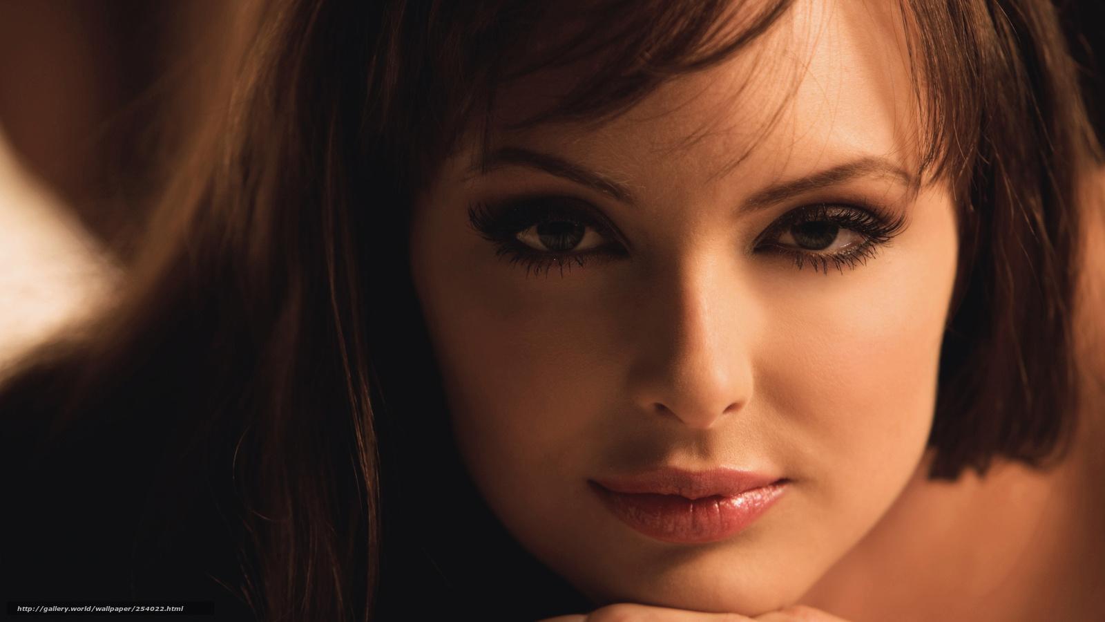 красивый взгляд женщины фото