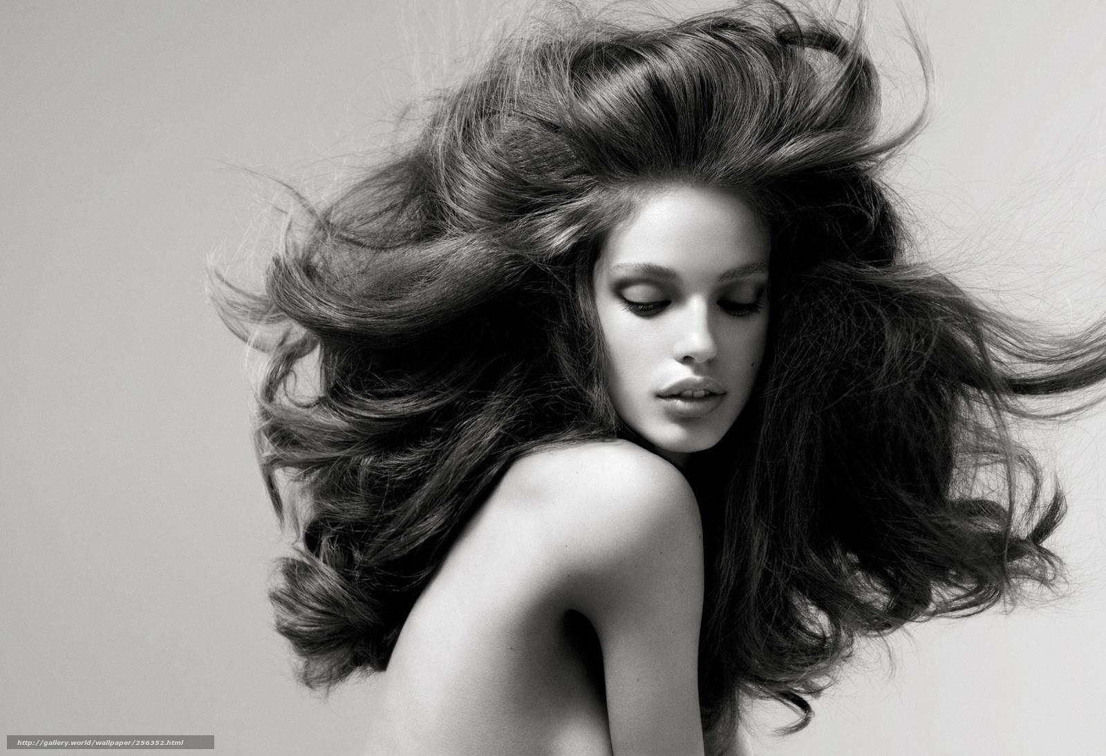 Фотографии девушки черно белые 15 фотография