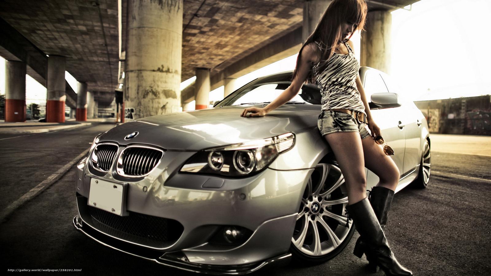 Фото девушек и авто m 20 фотография